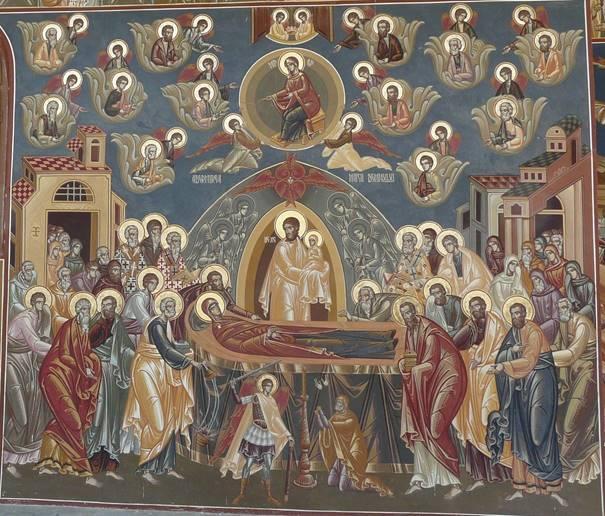 engel verschijnt aan maria